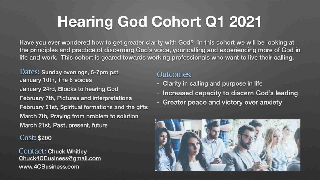 Hearing God Cohort Q1 2021